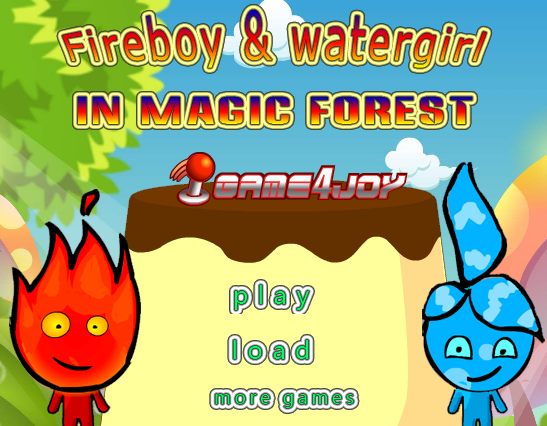 Fireboy Watergirl in Magic Forest