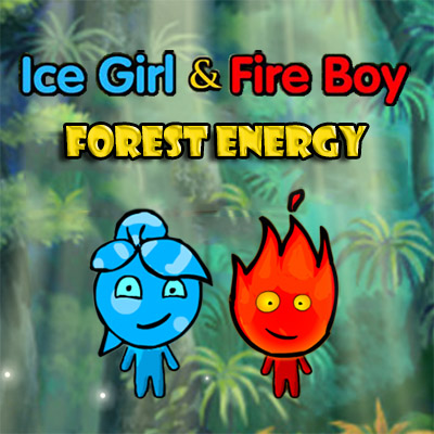 Icegirl and Fireboy Forest Energy