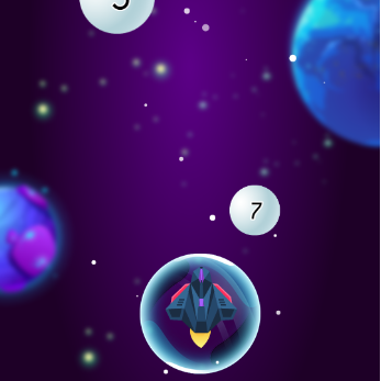 Snowball War Space Shooter